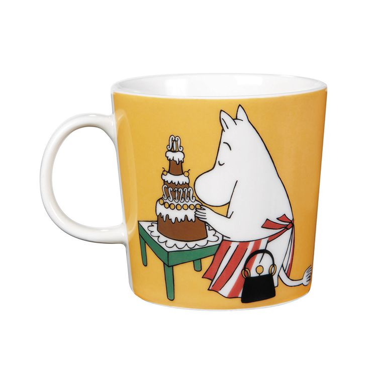 Moomin Mug Moominmamma, Peach - Tove Slotte-Elevant - Arabia - RoyalDesign.com