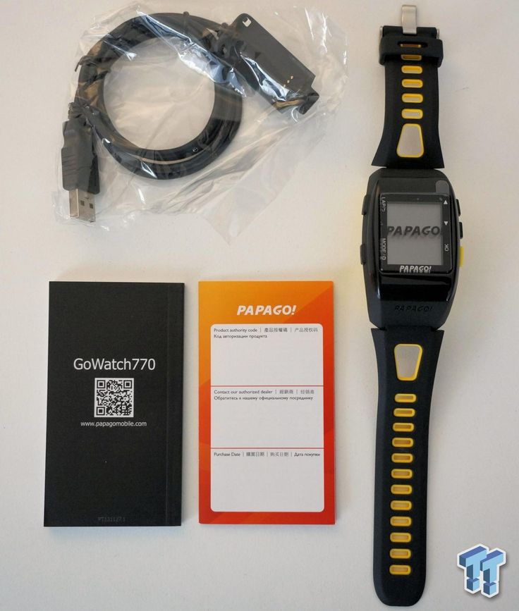 PAPAGO GoWatch 770 Sports Watch Review