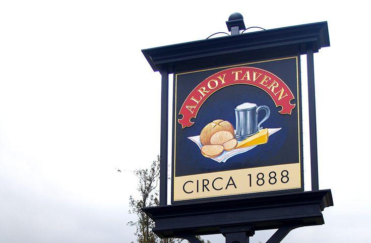 Alroy Tavern Sign