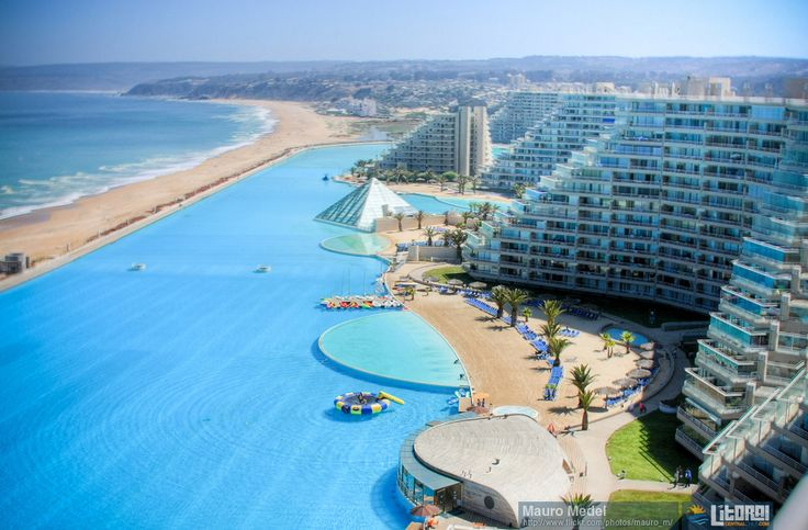 47 best images about chile algarrobo y san alfonso del mar on pinterest resorts portal and for World s largest swimming pool depth