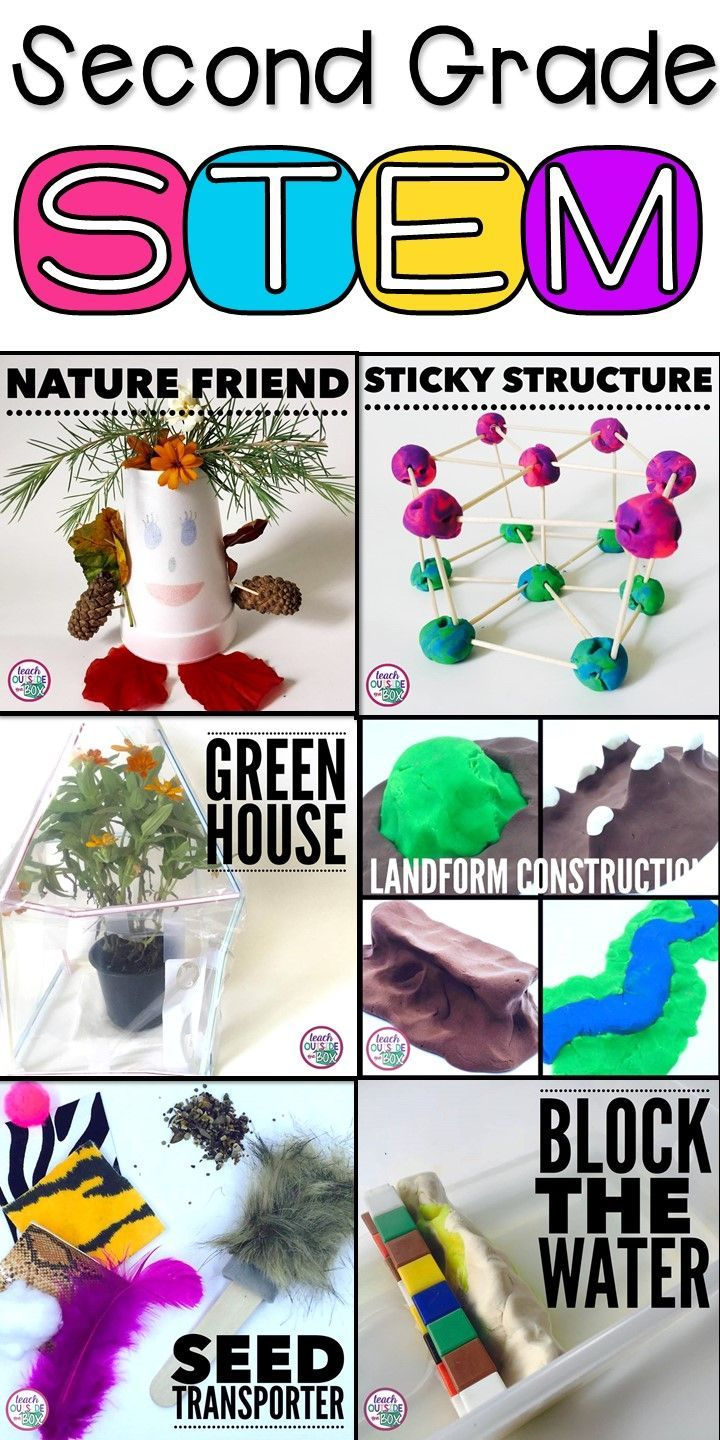 6 NGSS Aligned STEM Challenges designed specifically for Second Graders! | STEM Activities | 2nd Grade | Next Generation Science Standards