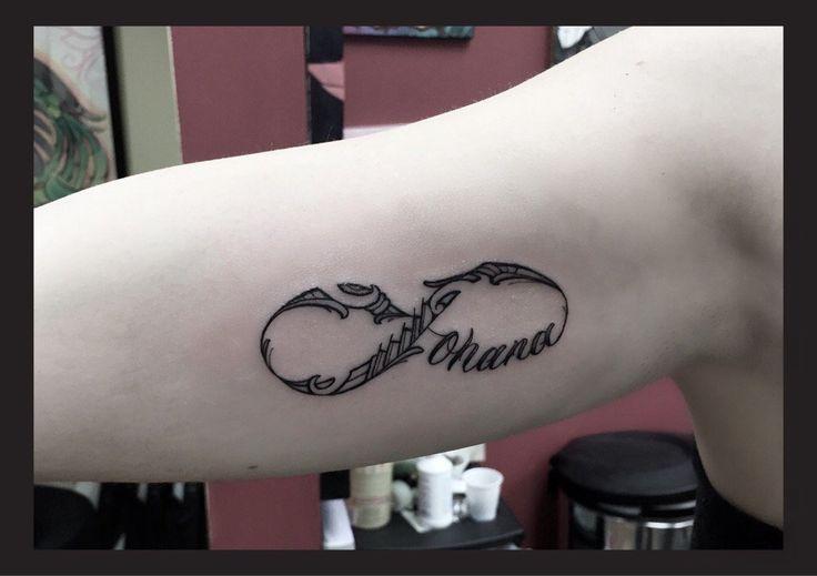 65 best sleeve tattoos images on pinterest sleeve for Ohana infinity tattoo