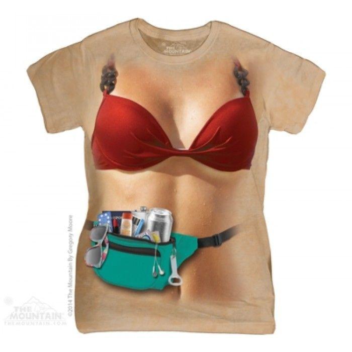 Tricouri dama 3D – Tricou Babe Summer Dama