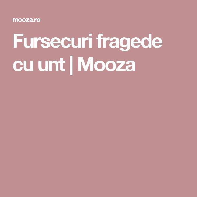 Fursecuri fragede cu unt | Mooza