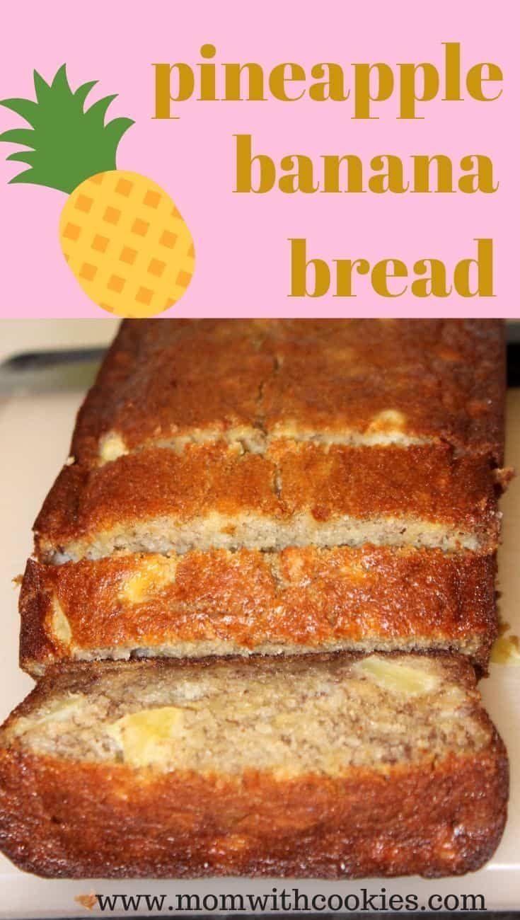 Pineapple Banana Bread Recipe In 2020 Pineapple Banana Bread Recipe Bread Recipes Homemade Baking Bread Recipes