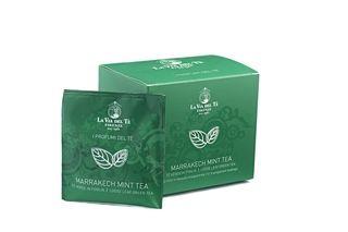 Marrakech Mint #Tea, comodo e veloce il #filtrofoglia con #tè foglia intera.