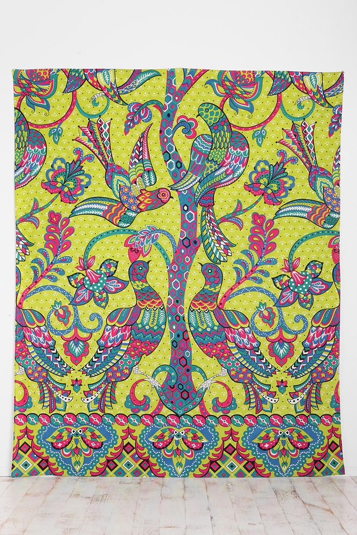 UrbanOutfitters.com > Peacocks and Trees Tapestry