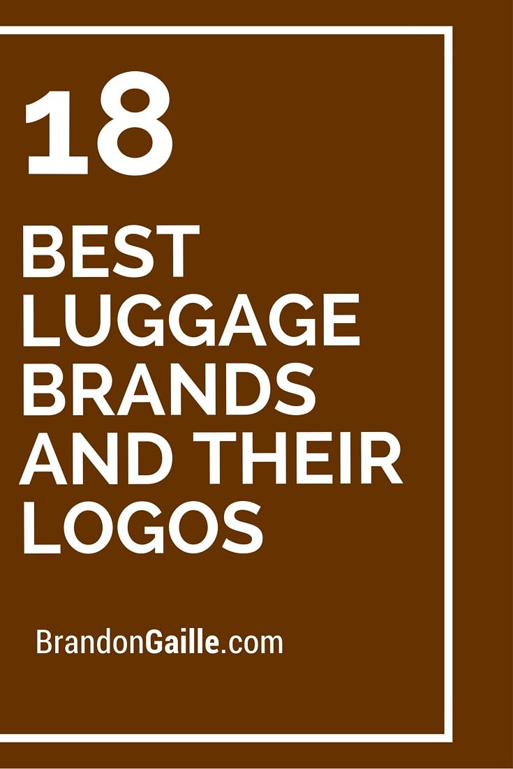 Luggage Brand Logos Mc Luggage
