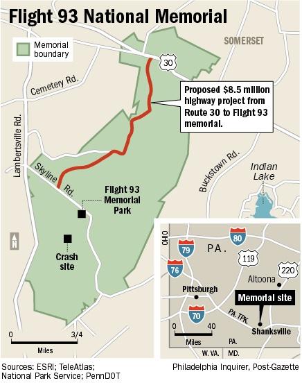 flight 93 crash site | Flight 93 Memorial