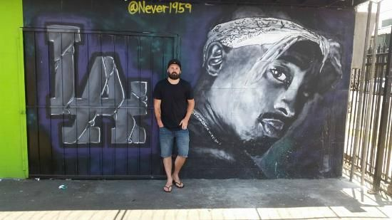 17 best images about real hiphop 90s we t coa t till i die for Baby boy tupac mural