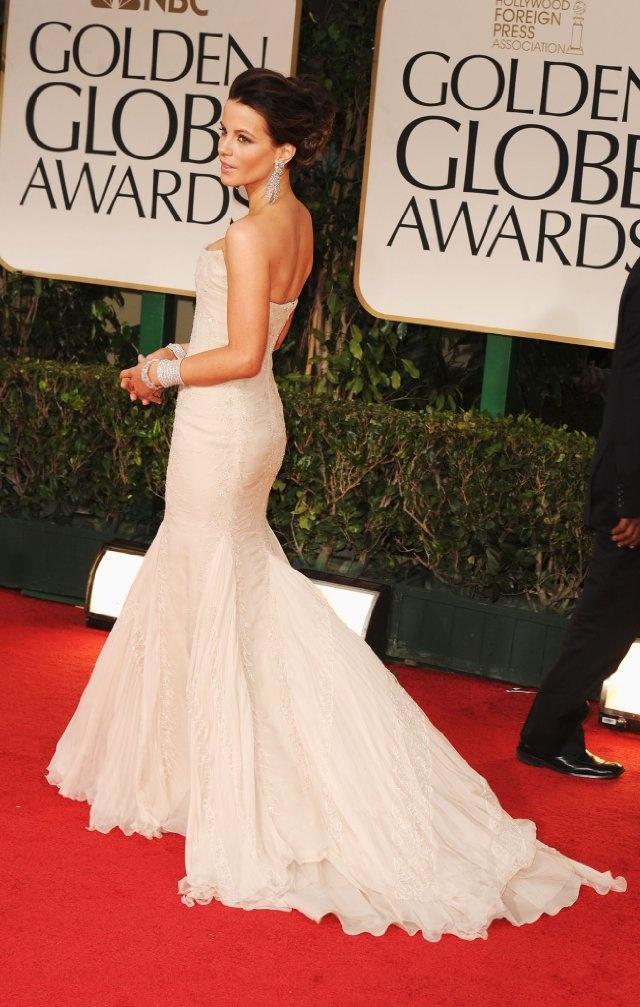 I am in LOVE with this dress: Prom Gowns, Golden Globe Award, Formal Dresses, Kate Beckinsale, Red Carpets, Beckinsale Strapless, 2012 Golden, Roberto Cavalli, Golden Globes Awards