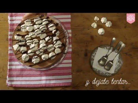 Recetas Chocolate Aguila | Torta helada - YouTube