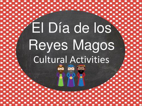 """El Día de los Reyes Magos - Learn about Christmas and the Three Wise Men in Mexico and other spanish-speaking countries! This printable Power Point presentation offers students important cultural information about """"El Día de los Reyes Magos"""" and invites them to participate in virtual activities that simulate different facets of the holiday celebration."""