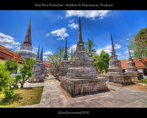 nice Wat Phra Mahathat - Nakhon Si Thammarat, Thailand (HDR) Check more at http://www.discounthotel-worldwide.com/travel/wat-phra-mahathat-nakhon-si-thammarat-thailand-hdr/