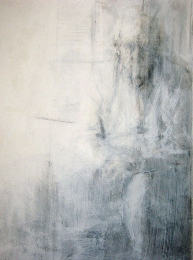 Ginny Grayson | Untitled, 2011. Charcoal and gesso on paper