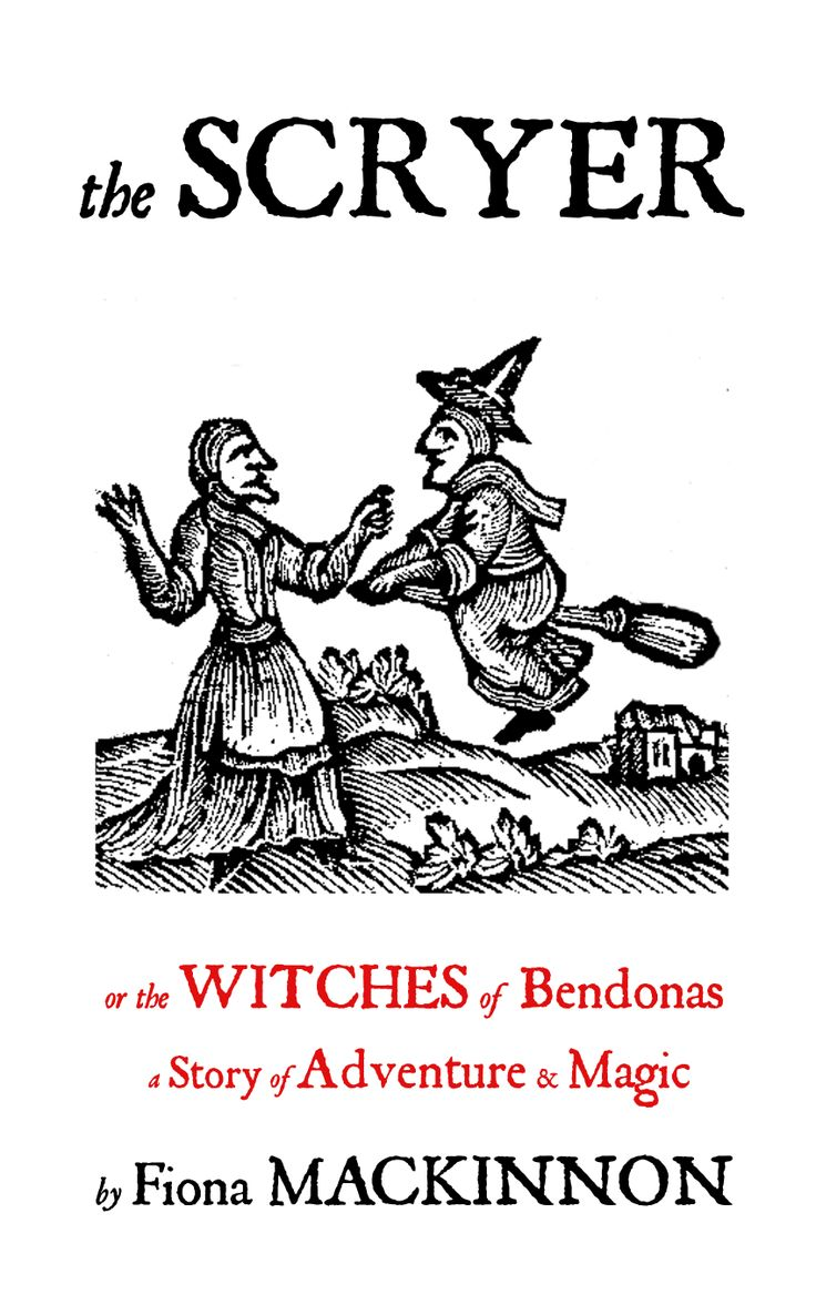 My third book!  It's got witches in it and everything!
