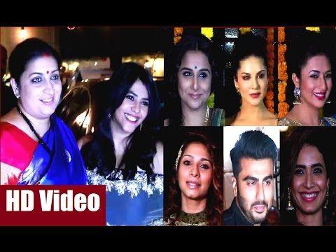 Ekta Kapoor's Diwali Party 2016 | FULL UNCUT VIDEO - 1.  #ektakapoor #diwali #diwaliparty #diwali2016 #diwaliparty2016 #bollywoodnews #bollywoodgossips #news #gossips #bollywoodnewsvilla