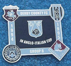 ANGLO-ITALIAN CUP 1995-UDINESE CALCIO-A.C. Cesena-Piacenza Calcio-ANCONA-Derby County F.C.