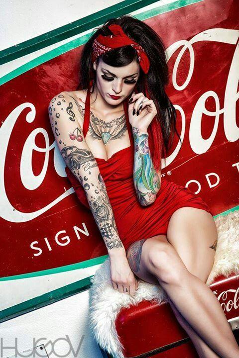 Zapatillas Victoria Rockabilly Tattoo Pinup Punk, Palmas de