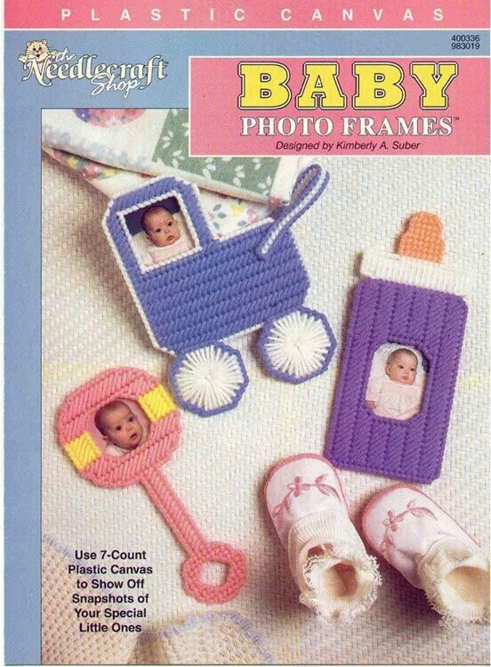 Cover Only Baby photo frames NCS-400336-/-983019 plastic canvas