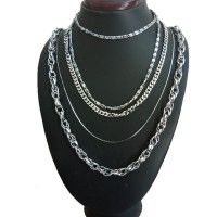 Menjewell Classic Collection Silver Formal Look Stylish Design Chain Combo For Men & Boys Rs. 325 Elegant Cum Stylish Combo Set For Men's, Mens Mixed Combos Online,  Buy Mens Mixed Combos Online, Buy Designer Mens Mixed Combos Online,  Buy Traditional Mens Mixed Combos, Buy modern Mens Mixed Combos