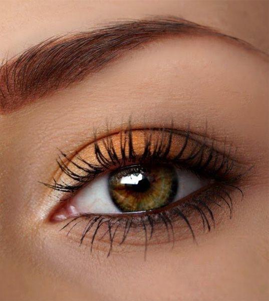 Stunning Winter Autumn Eye Makeup