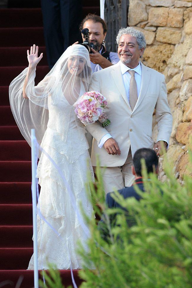 Andrés Iniesta & Anna Ortiz Teresa Helbig & Bornay!  www.teresahelbig.com