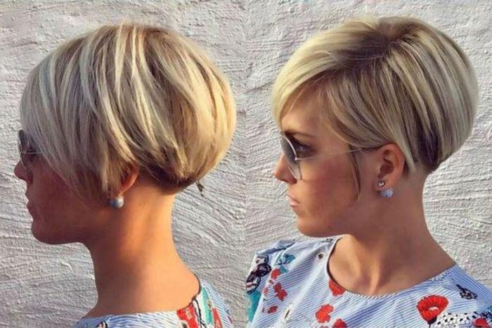 1001 Variantes De Coupe Courte Blonde Pour Rafraichir Votre Look Coupe De Cheveux Courte Coupe Courte Blonde Styles De Cheveux Courts