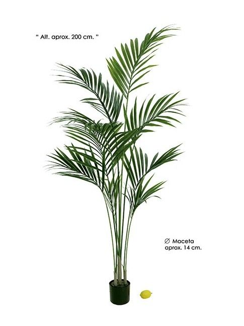 KENTIA PALM artificial 200 cm altura en VILLAFIORE.ES | plantas artificiales |flores plástico | palmeras artificiales |