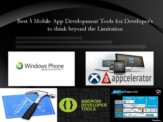 Best 5 Mobile App Development Tools in 2013 for Mobile Application Developers | PowerPoint (PPT) Presentation by sonitekca via SlideOnline.com