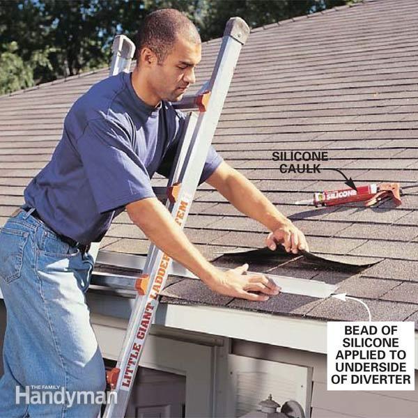 Add A Rain Diverter Rain Diverter Gutters Gutter Repair