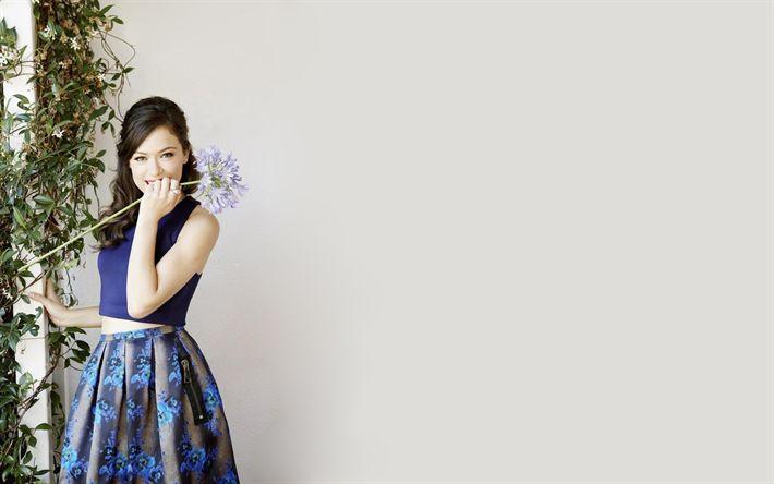 Download wallpapers Tatiana Maslany, canadian actress, brunette, beauty, beautiful woman