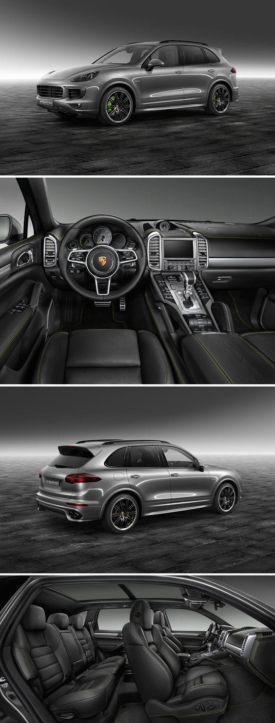 """ Cayenne S E-Hybrid from Porsche"" Most luxurious SUVs In The World 2017 Best luxury SUVs"