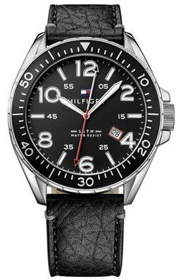 Tommy Hilfiger Men's 1791131 Casual Sport Analog Display Quartz Black Watch * Check out this great product.