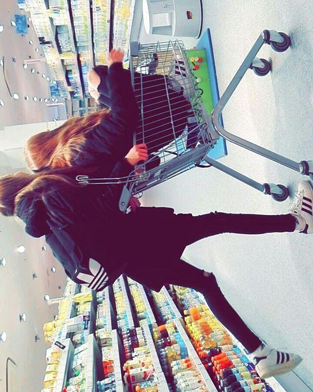 Hhh in supermarkt♥♥
