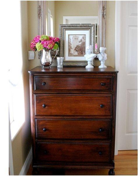 Restaining Old Furniture