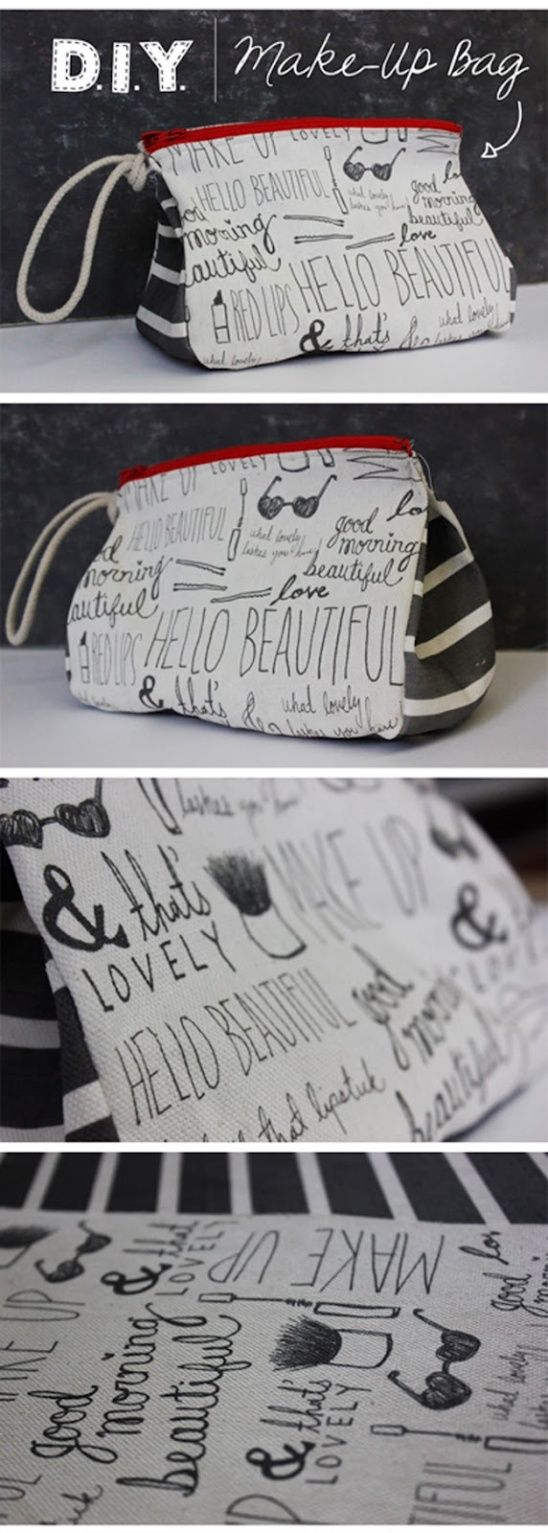 Hello Beautiful Makeup Bag | Kollabora Alt Summit Challenge by caytlyn | Project | Sewing / Bags & Purses | Kollabora