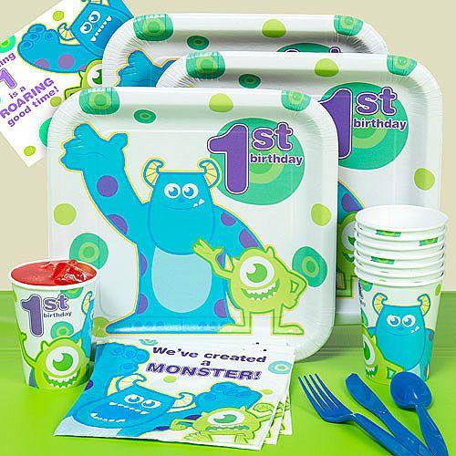 Best 25 monster inc birthday ideas on pinterest monster for 1st birthday party decoration packs