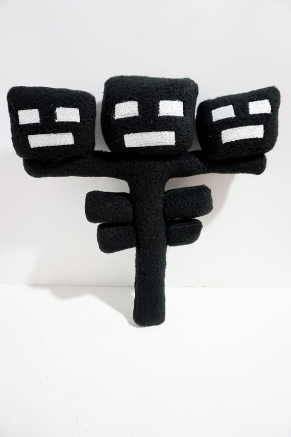 The Wither Storm And Wither Soft Minecraft Handmade Toys Fleece Plush 11 Inch