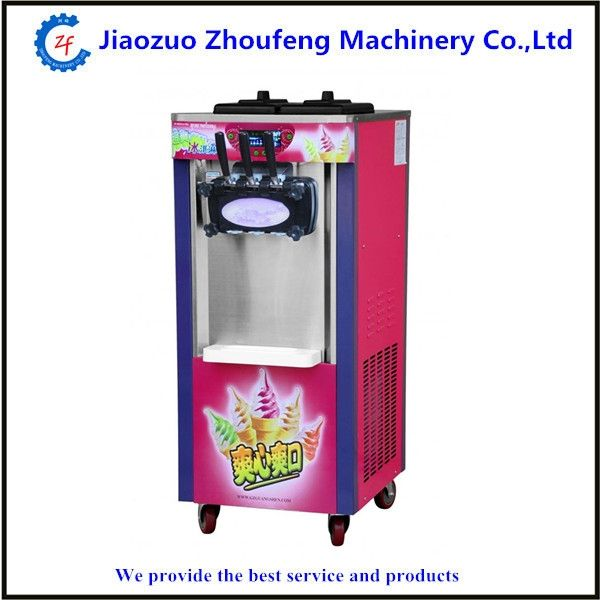 1200.00$  Watch more here  - Soft ice cream machine commercial 3-color ice cream maker frozen yogurt machine