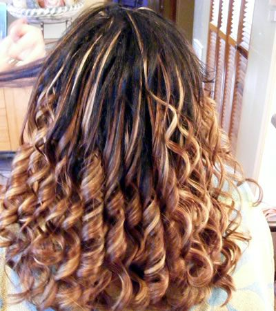 67 best human hair extension images on pinterest human hair fine brown blonde highlights curly wavy natural fusion hair extensions hairextensions pmusecretfo Gallery