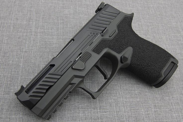 Sig Sauer P320 Custom Grip Stippling | Revolution Concepts