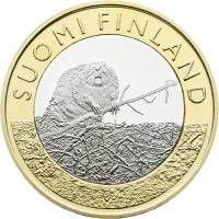 Suomen juhlarahat - Maakuntien eläimet - Satakunta - 2015   Kolikot.com