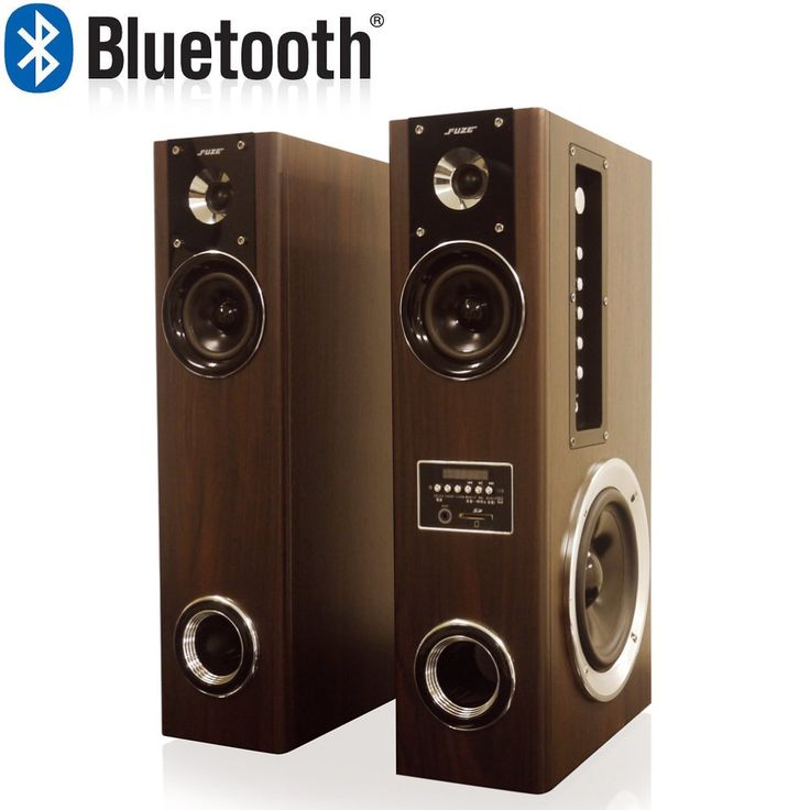 Aperiafuze Bluetooth compatible Built-in amplifier Dual Woofer Tower speaker TSX230BT. ● Midrange: 10W × 2 / Tweeter: 6W × 2 / Woofer: 20W × 2 / ● Speaker size: (mid range) 3 inches × 2 / (tweeter) 2 inches × 2 / (Woofer) 6 inches × 2 / ● Speaker impedance: (midrange) 8Ω / (tweeter) 8Ω / (Woofer) 6Ω / ● Audio frequency characteristics: 40Hz to 20kHz / ● S / N ratio: ≥ 70dB / ● Input impedance: ≥ 8kΩ / Sensitivity: 500 ± 50 mV. ● Audio input terminal: AUX (3.5 mm) × 1 line / audio (L / R) ×…