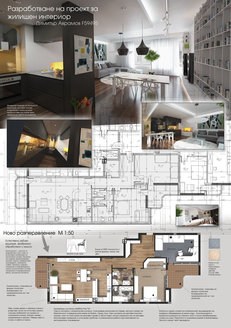 1 architecture pinterest - Interior design presentation layout ...