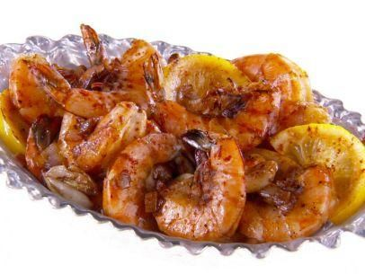 "New Orleans Barbecued Shrimp (An Italian Christmas) - Giada De Laurentiis, ""Giada at Home"" on the Food Network."