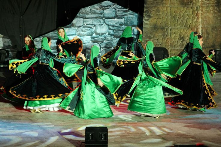 Chechen dancers