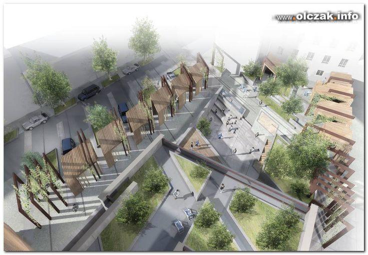 Architekt Maciej Olczak - plac miejski