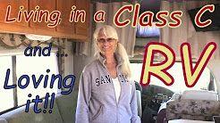class c rv living - YouTube
