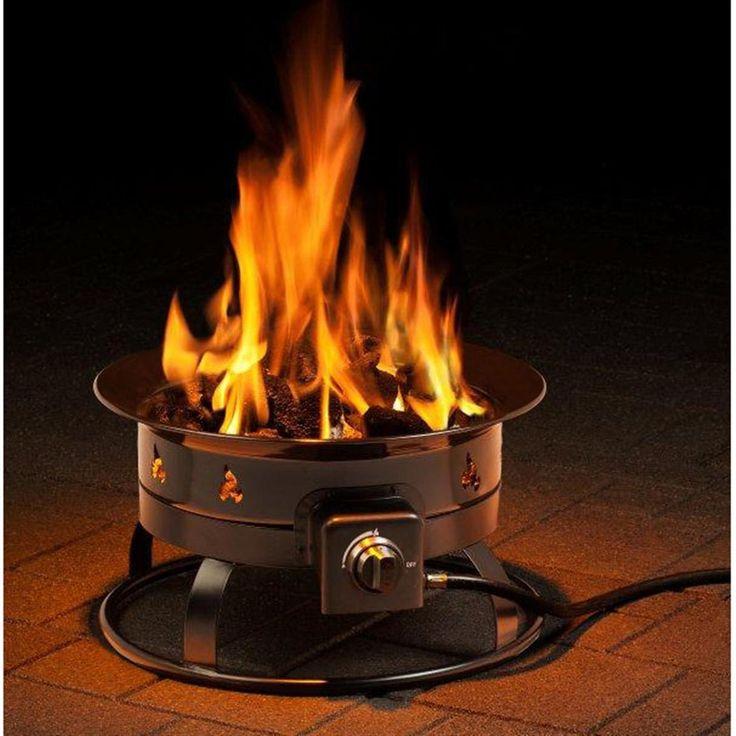Coleman propane gas fire pit portable propane fire pit
